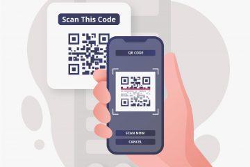 Smartphone scannant un QR Code