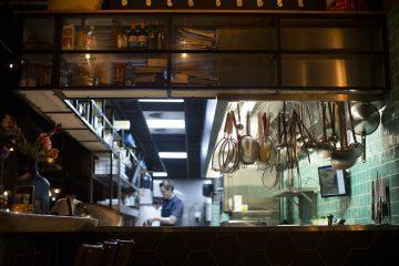 cuisine dark kitchen